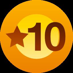 徽章:十个赞