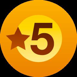 徽章:五个赞