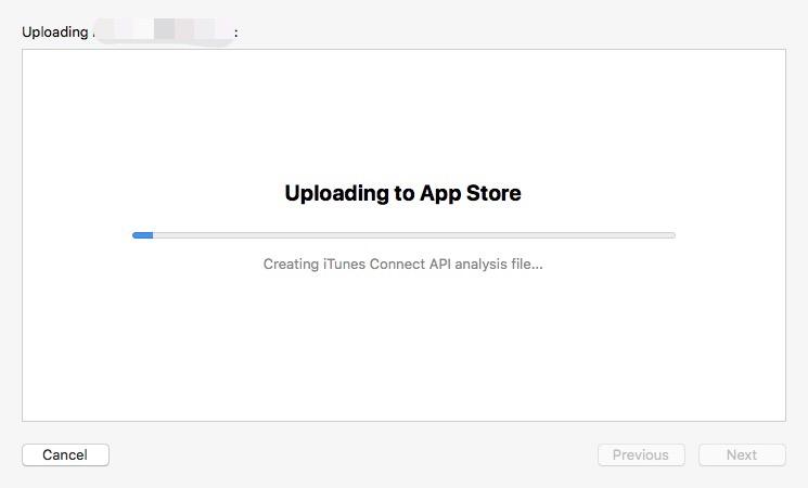 Uploading to App Store